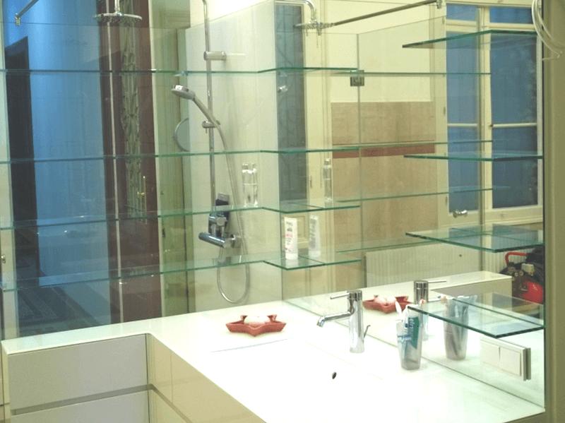 spiegel wandverspiegelung und spiegel auf ma glas halper in m dling und baden. Black Bedroom Furniture Sets. Home Design Ideas